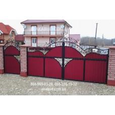 Ворота металлические P39