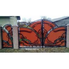 Ворота металлические P42