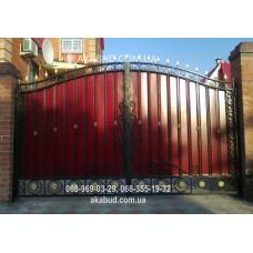 Ворота металлические P43