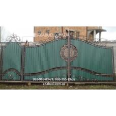 Ворота металлические P44