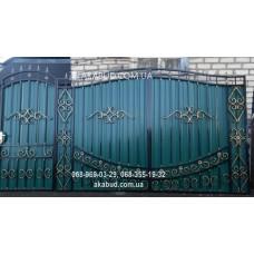 Ворота металлические P45