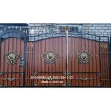Ворота металлические P46