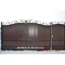 Ворота металлические P47