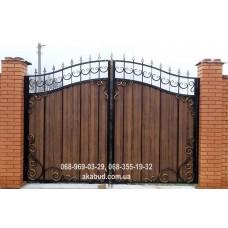 Ворота металлические P48