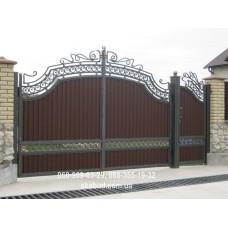 Ворота металлические P49