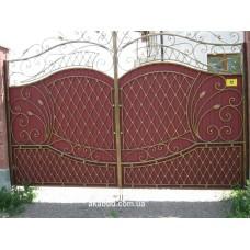 Ворота металлические P50