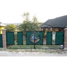 Ворота металлические P51