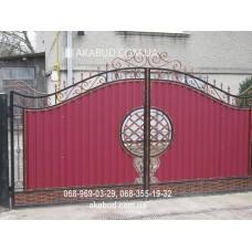 Ворота металлические P52