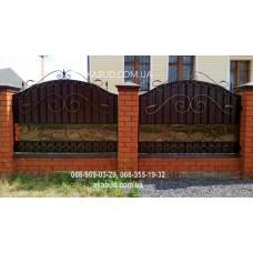 Ворота металлические P55