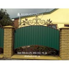Ворота металлические P56