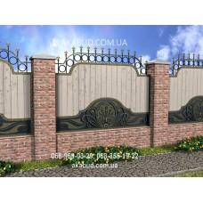 Ворота металлические P57