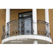 Кованые перила на балкон QR16