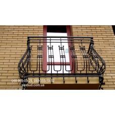 Кованые перила на балкон QR19