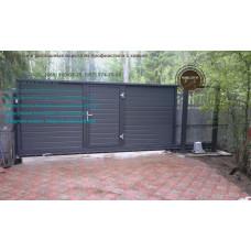 Ворота автоматические, ворота откатные, монтаж откатных ворот