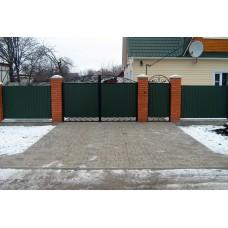 Ворота металлические № 1