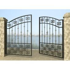 Ворота распашные из металла G1