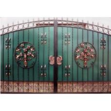 Распашные Ворота Из Профильной Трубы