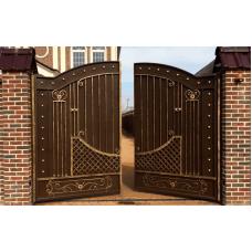 Распашные Ворота Для Забора