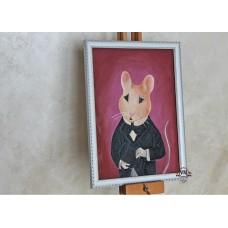 Картина маслом Викторианский Мышонок