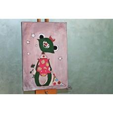 Картина в детскую Лягушонок
